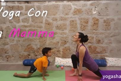 Yoga con la Mamma – Il saluto al Sole e alla Luna