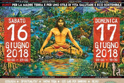 Civita Castellana – 16 e 17 Giugno appuntamento con l'Eco Yoga Festival – II° Edizione