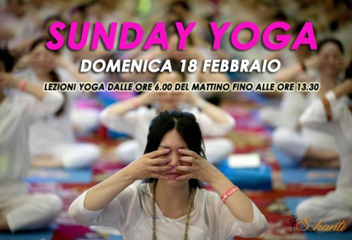 Sunday Yoga – Domenica 18 Febbraio
