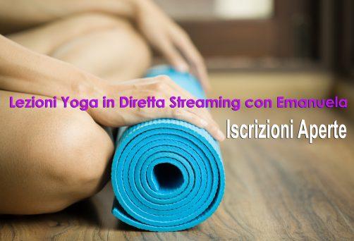 Lezioni Yoga On Line in Diretta Streaming con Emanuela